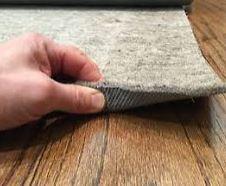 loose lay rubber felt pad