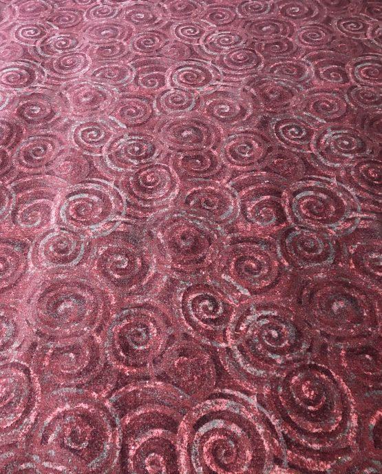 Swirls Comm Red: Pink