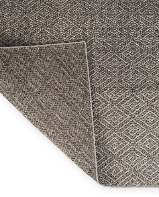 Curacao Pewter Folded